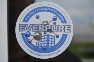 Sticker for EverPURE protected facilities