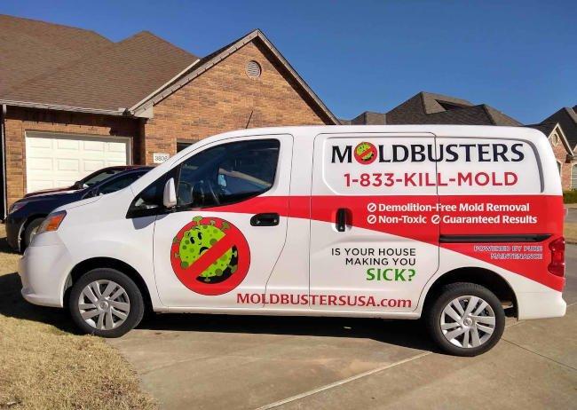 Mold Busters USA - Kill Mold Truck Photo 600 x 462